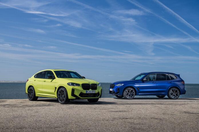 BMW har gjort flere av sine nye modeller nye, og her er det to fargerike og nye X3 M Competition og X4 M Competition. (Fotos: BMW)