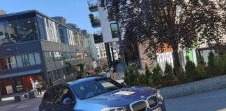 BMW iX3 rullet over 100 kilometer lenger enn sin oppgitte rekkevidde. (Foto: NAF)