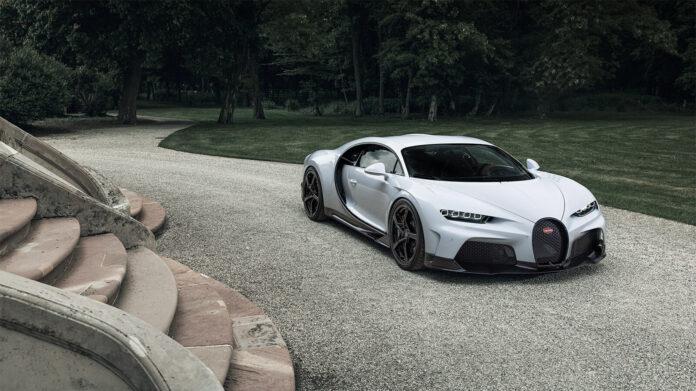 Bugatti har på gang en ny utgave av Chiron, og nå handler det mye om toppfarten. (Fotos: Bugatti)