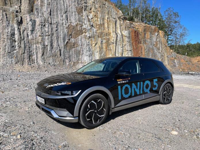 Hyundais neste elbil, Ioniq 5, imponerer. (Fotos: Nybiltester)