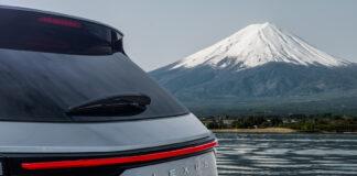 Lexus viser nå et lite utsnitt av den nye gerenasjonen av NX, som får verdenspremiere 12. juni. (Foto: Lexus)