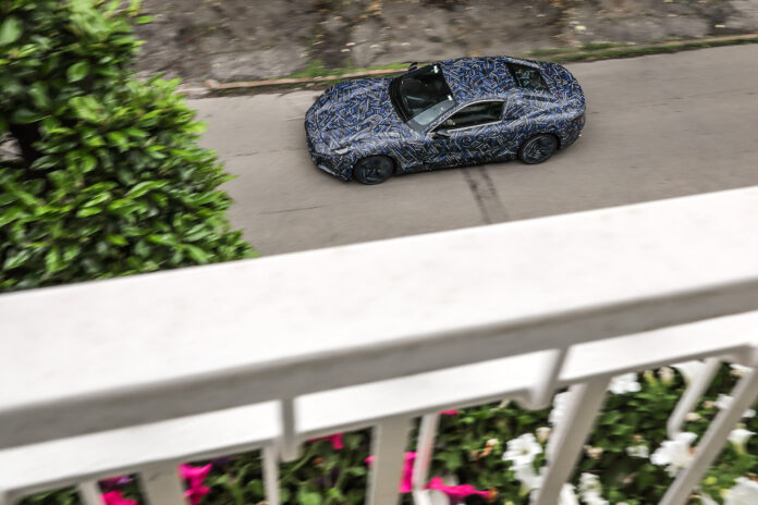Maserati viser fram noen bilder av kommende GranTurismo. (Fotos: Maserati)
