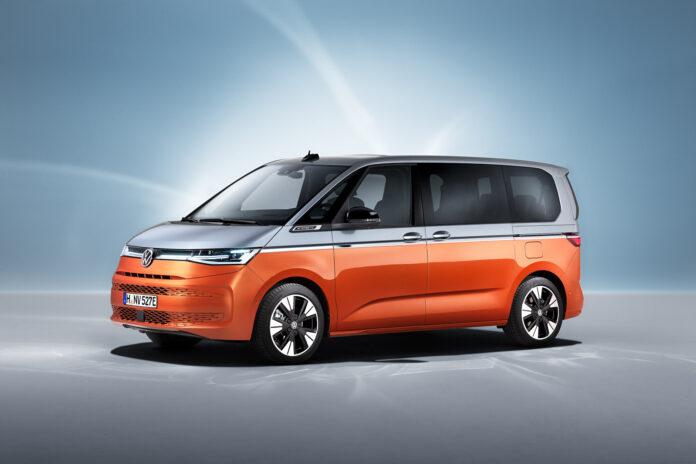Volkswagen viser nå fram den nye Multivan, som kommer som ladbar hybrid for aller første gang. (Fotos: Volkswagen)