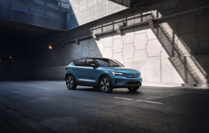 Volvo åpner for bestilling av den kommende elbilen C40 Recharge. (Fotos: Volvo)