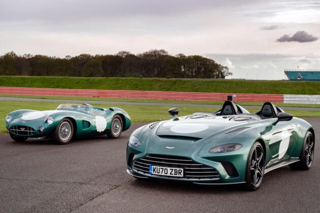 Aston Martin V12 Speedster + DBR1.