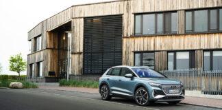 Audi plusser på med to utgaver i Q4 e-tron-familien, og deriblant en lillesøster av dagens quattro-utgave. (Fotos: Audi)