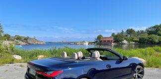 Sommer, sol og kabriolet. Og når sistnevnte også er en BMW M440i, ja, da leker livet. (Fotos: Nybiltester)