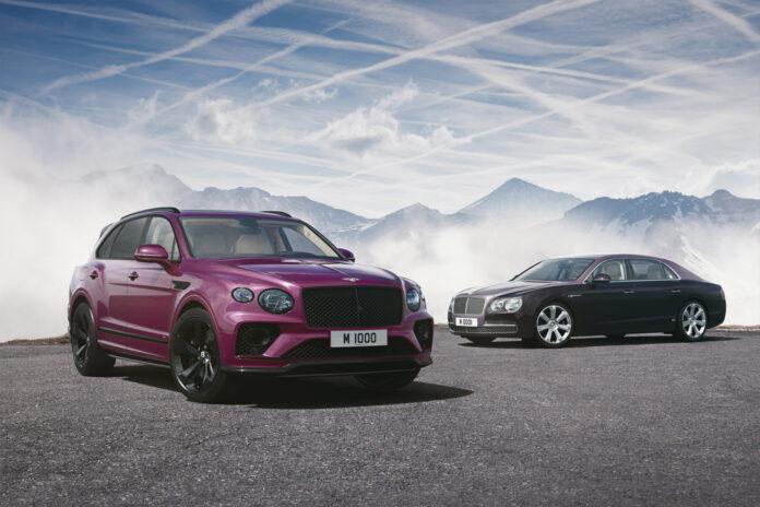 Bentleys spesialavdeling har gjennomført sitt 1.000 prosjekt, og dette er en lille Bentayga. (Fotos: Bentley)