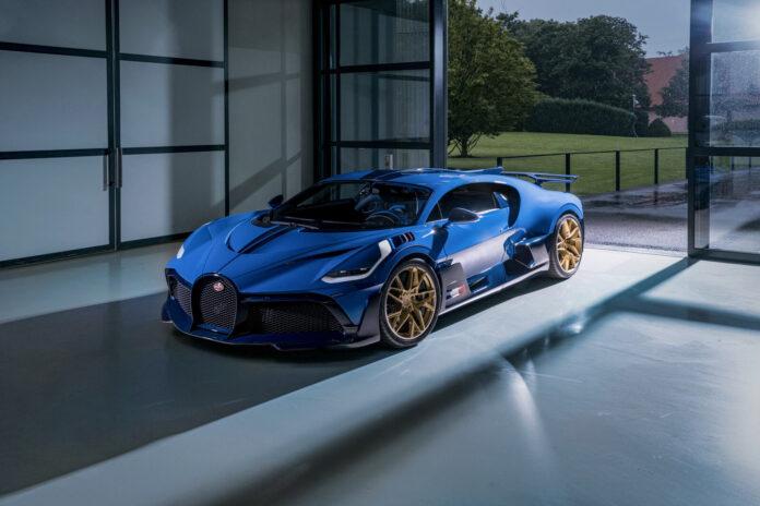 Bugatti har nå levert den 40. og siste utgaven av Divo til en europeisk kunde. (Fotos: Bugatti)