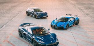 Hva får man om man kombinerer Bugatti, Porsche og Rimac? Jo, Bugatti Rimac, et nytt superselskap. (Fotos: Rimac)