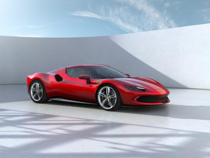 Ferrari har klar en ladbar hybrid med V6-motor, nemlig 296 GTB. (Fotos: Ferrari)