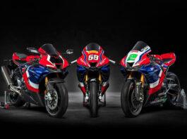 Honda har testet hvor godt følge en standard motorsykkel holder følger med en som deltar i Superbike. (Fotos: Honda)