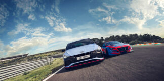 Hyundai har klar en ny N-versjon, og denne gang handler det om sedanen Elantra. (Fotos: Hyundai)