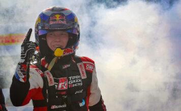 Finske Kalle Rovanperä, nå kalt kong Kalle, ble tidenes yngste vinner av en VM-runde i rally. (Fotos: Toyota)
