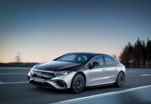 Kommende Mercedes EQS baner vei for en enorm elbil-satsing i regi av det tyske premiummerket. (Fotos: Daimler)