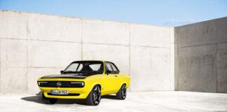 Opel gir etter fort presset, og skal sende helelektriske Manta fra konseptstadiet og inn i serieproduksjon. (Fotos: Opel)