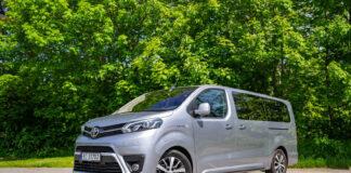 Toyota har kommet med en helelektrisk utgave av Proace Verso. (Fotos: Nybiltester)