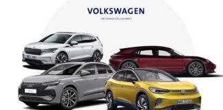 Volkswagen-gruppen opplever et stadig økende elbilsalg. (Fotos: VAG)