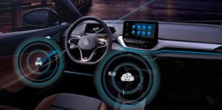Volkswagen er nå klar med trådløse oppdateringer til sine ID-biler, og de første ID.3-bilene blir de første til å motta slike. Bildet her er fra ID.4 (Fotos: Volkswagen)