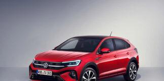 Volkswagen viser nå fram en helt ny modell, en kompakt SUV kalt Taigo. (Fotos: Volkswagen)