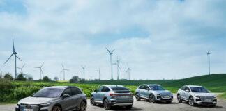 Audi skal satse alt på elbiler i framtiden, og skal bli karbonnøytrale innen 2050. (Fotos: Audi)