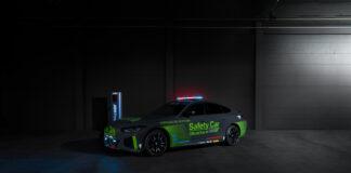 BMW skal bruke en i4 som sikkerhetsbil i motoE, den elektriske søsteren til toppserien motoGP i roadracing. (Fotos: BMW)