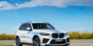 BMW viser nå fram iX5, en bil med Hydrogen i modellnavnet. (Fotos: BMW)