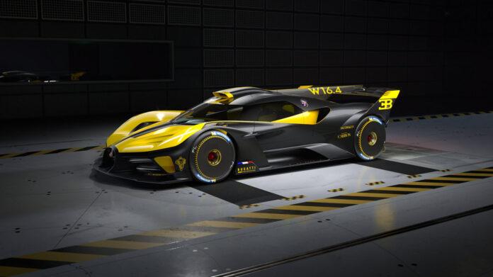 Bugatti gir etter for presset, og skal lage 40 eksemplarer av hyperbilen Bolide. (Fotos: Bugatti)