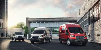 Posten Norge og Recover skal nå teste ut en prototype av Ford E-Transit, og dele sine erfaringer med Ford. (Fotos: Ford)