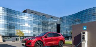 Data rundt populære ladehybriden Ford Kuga viser hvor mye av tiden den kjøres på ren elektrisk kraft. (Fotos: Ford)