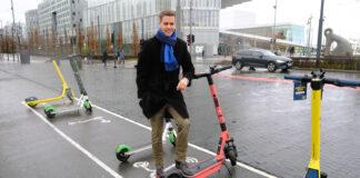 Knut Arild Hareide vil stramme inn reglene for bruk av elsparkesykler. (Foto: Frøydis Tornøe, Samferdselsdepartementet)