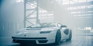Ikonet er tilbake. Her er 2022-utgaven av selveste Lamborghini Countach. (Fotos: Lamborghini)
