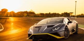 Lamborghini har endelig fått luftet sin nye og spinnville Huracán-utgave på en bane. (Fotos: Lamborghini)