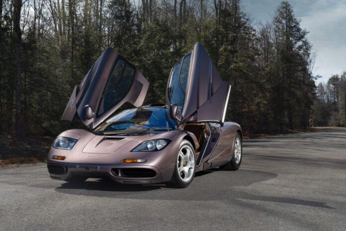 Denne bruktbilen fra 1995 koster tresifret millioner av kroner. (Fotos: McLaren)