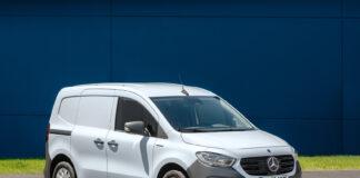 Mercedes har snart klar en elektrisk utgave av Citan, som nå oppdateres til 2. generasjon. (Fotos: Mercedes)