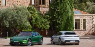 Porsche sier at de finjuster teknologien til Taycan-modellene, noe som betyr enda mer rekkevidde. (Fotos: Porsche)