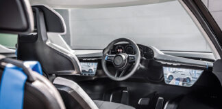 Porsche gir oss et glimt inn i framtidens biler. (Fotos: Porsche)
