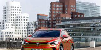 Volkswagen drar med seg kommende ID.5 GTX til den internasjonale bilutstillingen i München neste måned. (Fotos: Volkswagen)