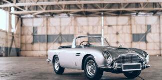 Dette er James Bond-bilen for junioren, nemlig en litt mindre Aston Martin DB5 full av spionutstyr. (Fotos: The Little Car Company)