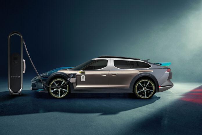 Den spesielle elbilen er satt sammen av det beste fra 11 andre elbiler. (Foto: Autovia)