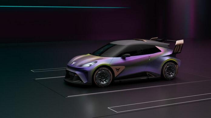 Cupra viser fram et elektrisk konsept som skal føre til en urban elbil i 2025. (Fotos: Cupra)