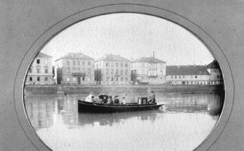 Daimlers bensinmotor fant også veien til båtene, så dermed sto samme motor bak verdens første motorsykkel og båt med forbrenningsmotor. (Fotos: Daimler)
