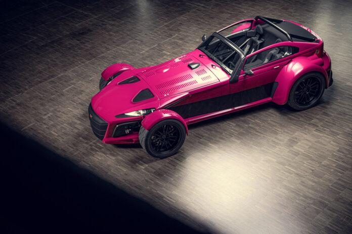Skal det være en rosa superbil? Ingen problem, Donkervoort fikser det for deg. (Fotos: Donkervoort)