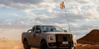 Ford pirrer nå med en generasjon av pickupen Ranger, og den ser ut til å virkelig trives utenfor allfarvei. (Foto: Ford)