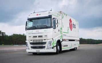 Her ruller en elektrisk lastebil en ny rekkevidde-rekord. (Fotos: Continental)