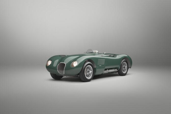 Vakre og potente Jaguar C-Type satte konkurrentene på plass for 70 år siden, og gjør nå et sensasjonelt comeback. (Fotos: Jaguar)
