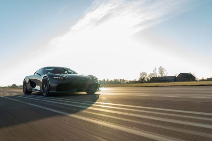 Koenigsegg opplyser at det er i rute med verdens første mega-GT, en milsluker kalt Gemera. (Fotos: Koenigsegg)