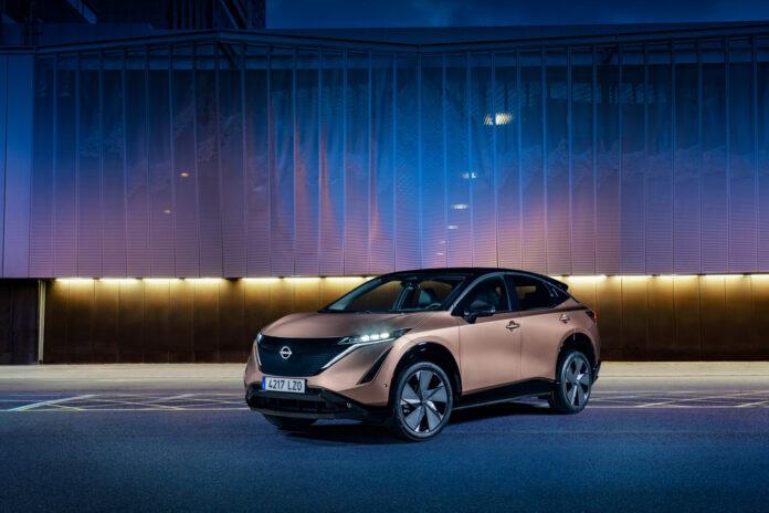 Nissan har åpnet for bestillinger av den kommende elbilen Ariya i det første landet utenfor Japan, og det er Norge. (Foto: Nissan)