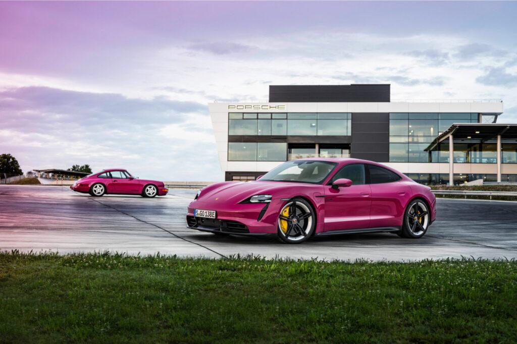 Porsche 911 og Porsche Taycan. (Foto: Porsche)