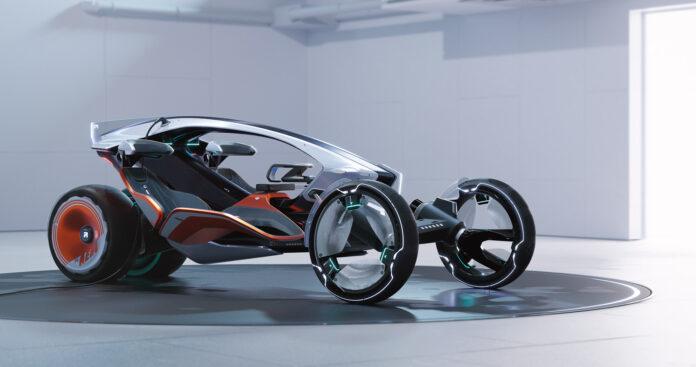 Folkene bak MG viser nå en visjon av framtidige framkomstmidler i store byer. (Fotos: MG Motors)